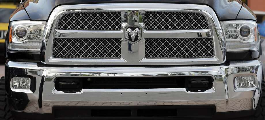Fiat Chrysler's sales rose 12 percent in February, led by its Dodge Ram pickup and Jeep brand. Auto sales in the U.S. rose 7 percent over last February. Photo: Alan Diaz, Associated Press