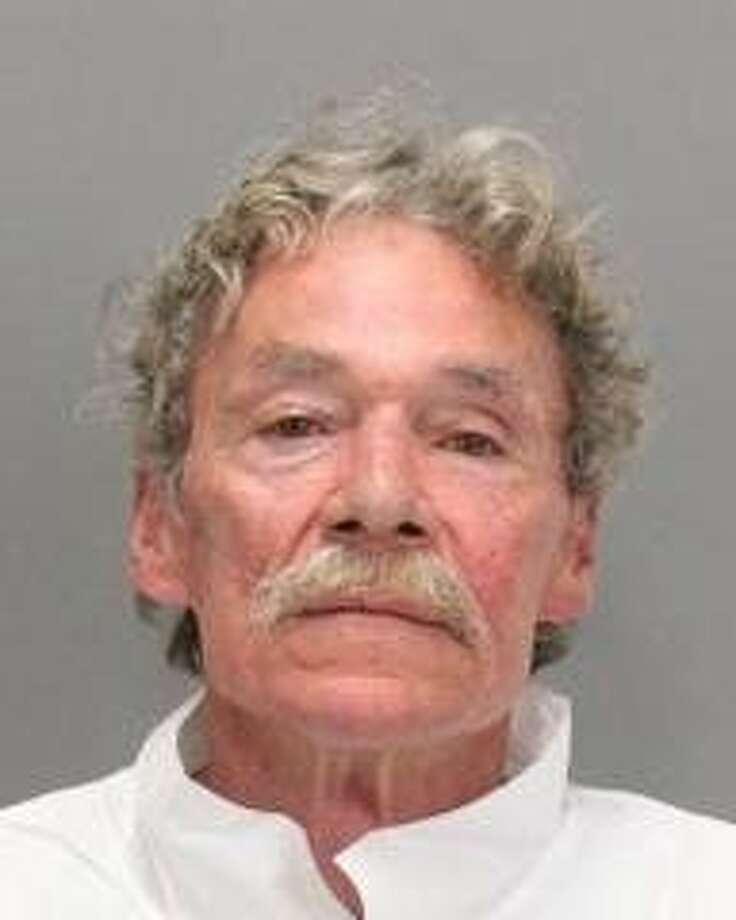 Steven Edward Garrett, 64, was arrested on suspicion of felony battery in Palo Alto. Photo: Palo Alto Police Department