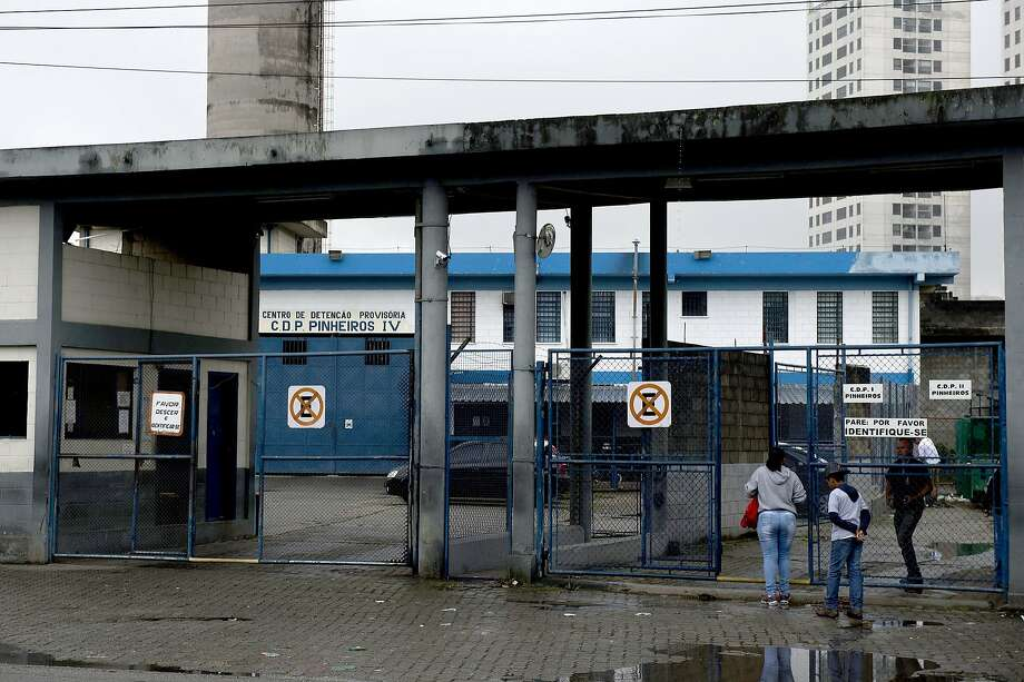 Facebook's Latin American vice president is being held in this Sao Paulo deten tion center after the firm refused to provide data requested by authorities. Photo: Nelson Almeida, AFP / Getty Images