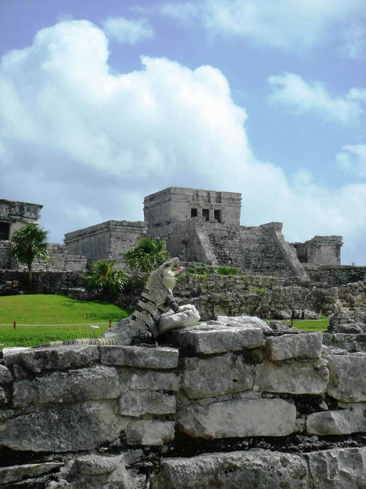 Tulum on Mexico's Yucatan Peninsula is one of the country's most important Mayan sites.