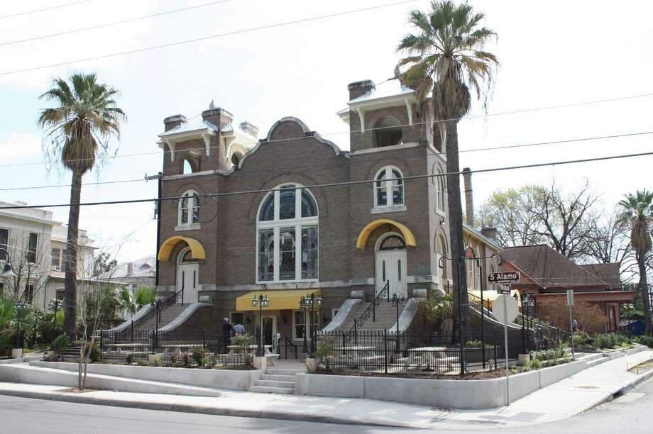 Frank and St. Francis are located in the King William neighborhood at 1150 S. Alamo St., former home of a Methodist church. Photo: Julie Cohen / San Antonio Express-News