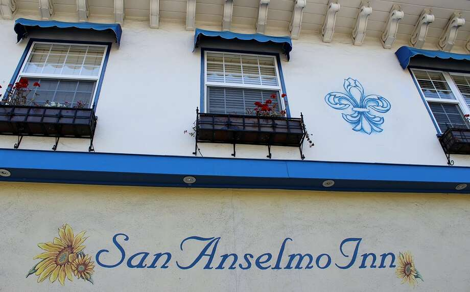Historic buildings downtown include the turn-of-the-century San Anselmo Inn. Photo: Stephanie Wright Hession