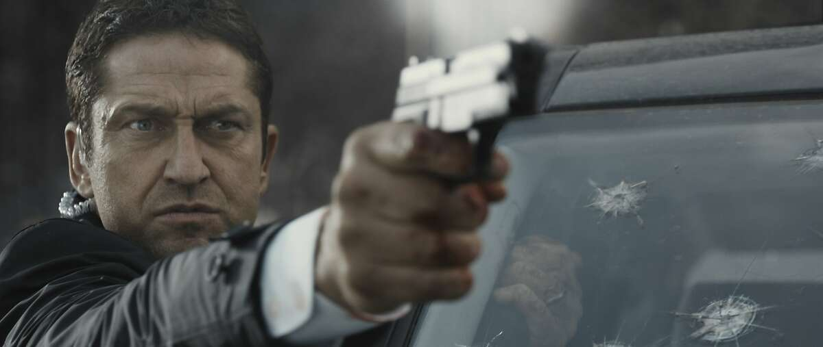 """Secret Service Agent Mike Banning (Gerard Butler) takes on an army of terrorists in """"London Has Fallen."""" Credit: Courtesy of Gramercy Pictures"""
