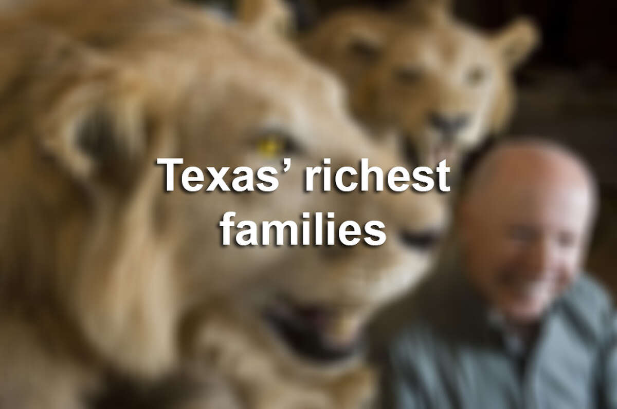 See what industries have made these Texas families the richest in the state.