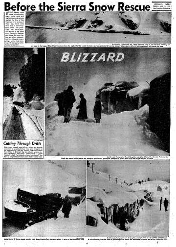 Snowbound in the Sierra: 3 days of hell on a train in 1952