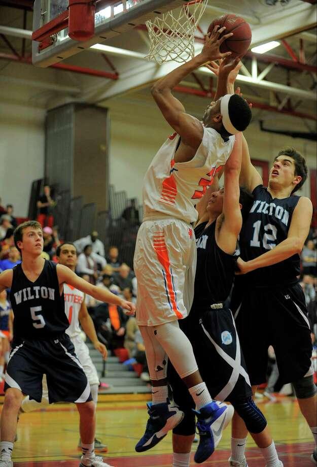 Men's BasketballU.S. high school participants: 541,054NCAA participants: 18,320Source: NCAA Photo: Matthew Brown, Hearst Connecticut Media / Stamford Advocate