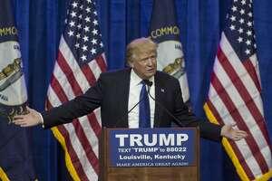 Donald Trump, precandidato para la presidencia de Estados Unidos en las elecciones primarias.
