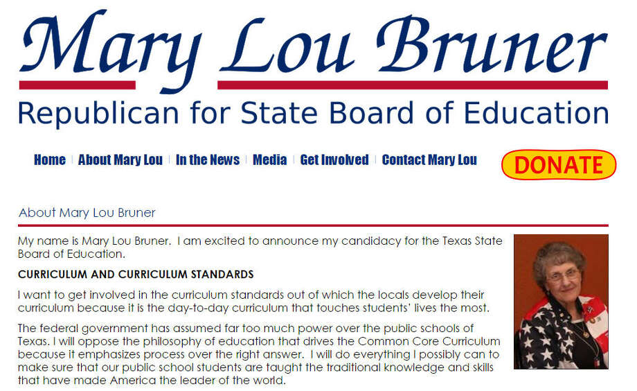 Mary Lou Bruner believes President Obama used to be a gay prostitute and that lessons on evolution led to school shootings.