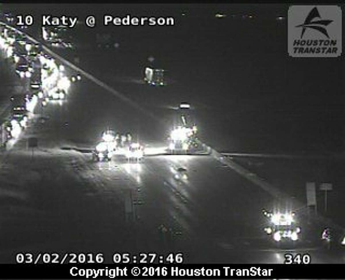 A fatal crash about 5:15 a.m. Wednesday on eastbound I-10 in Katy forced officials to shut down the freeway.