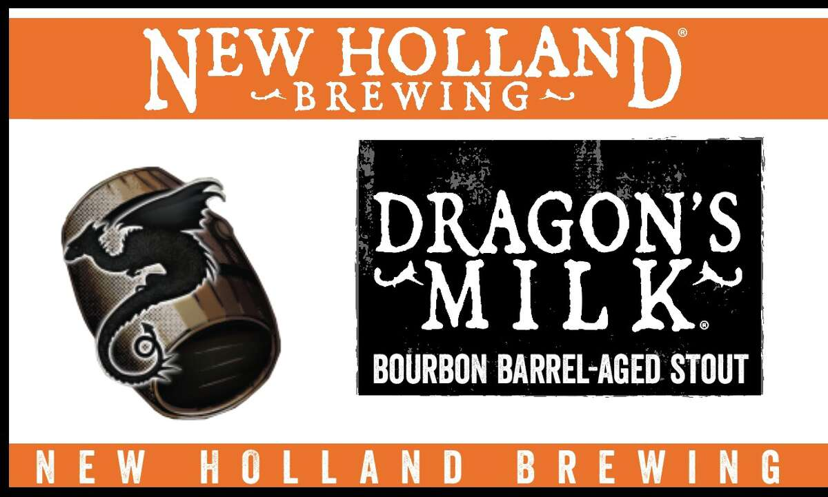 Dragon's Milk from New Holland Brewing Co. is available in Houston and San Antonio, effective March 2016.