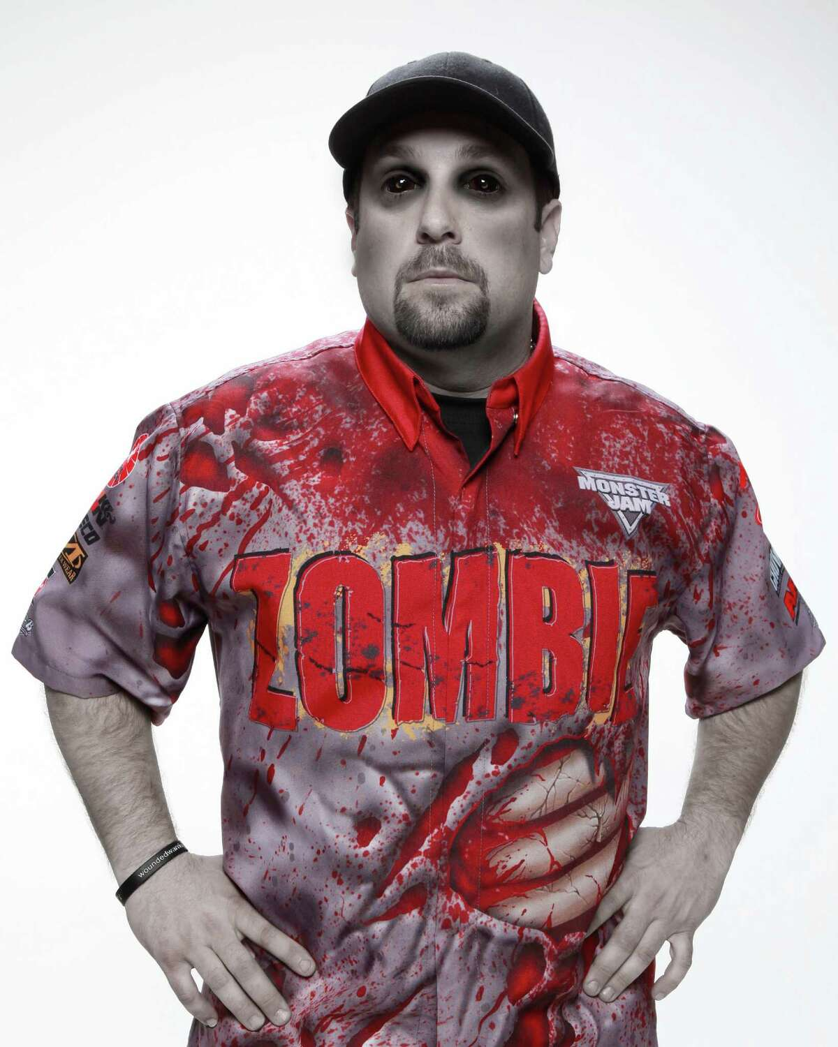 Former New Orleans police officer Sean Duhon comes to Bridgeport's Webster Bank Arena for Monster Jam, Friday-Sunday, March 4-6. His truck is called Zombie.