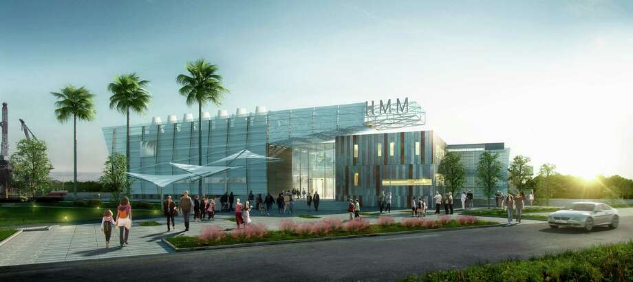 A rendering of plans for the Houston Maritime Museum's new building at the port. Photo: Houston Maritime Museum