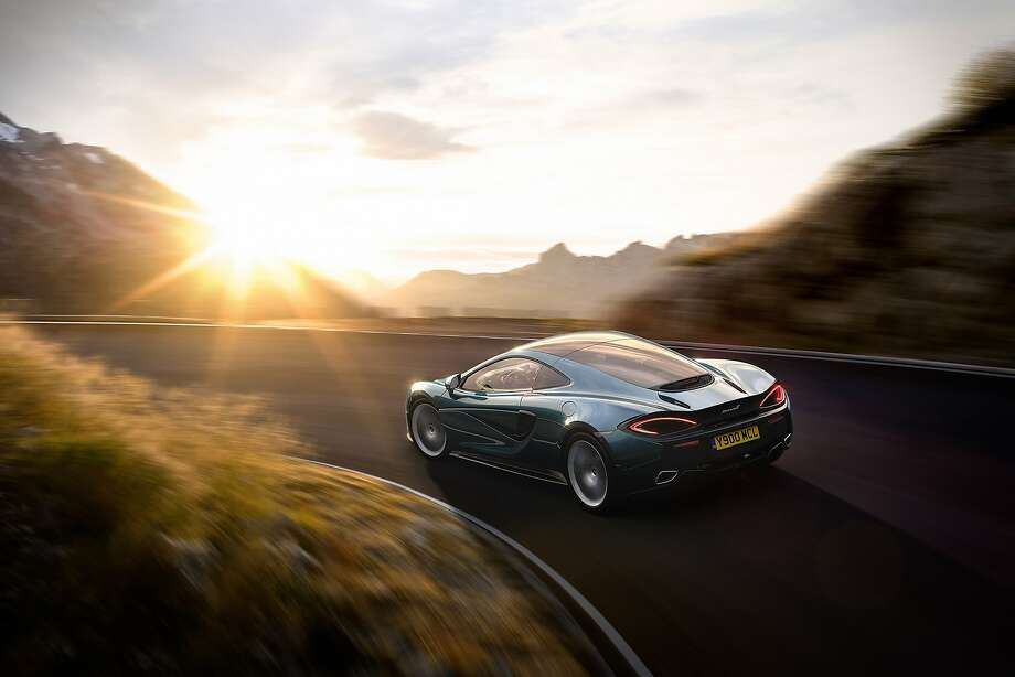 The new McLaren 570GT, unveiled in Geneva. Photo: McLaren