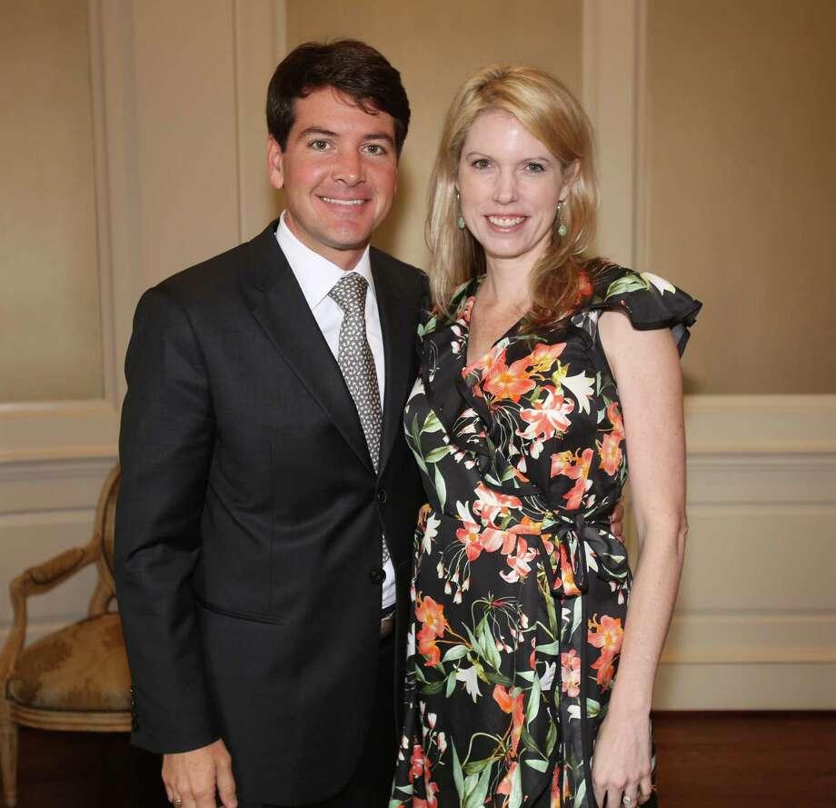 Bill and Courtney Toomey Photo: Amber Elliott, Houston Chronicle / © 2016  Houston Chronicle