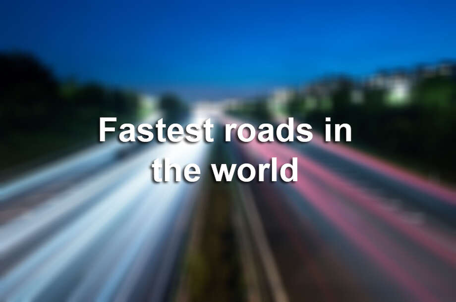 Click ahead to see some of the fastest speed limits in the world.