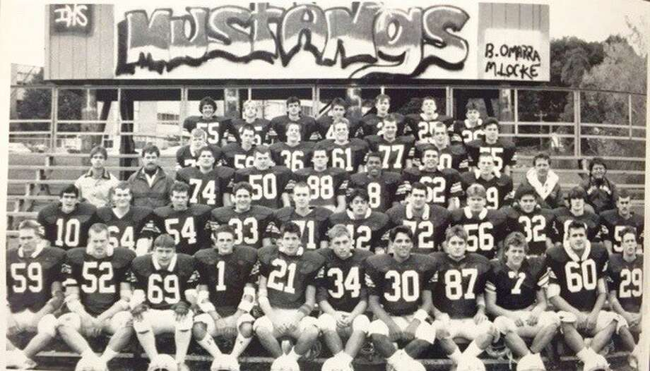 The 1986 Immaculate High School football team, which won the Class S state championship. Photo: Contributed Photo / Contributed Photo / News-Times Contributed