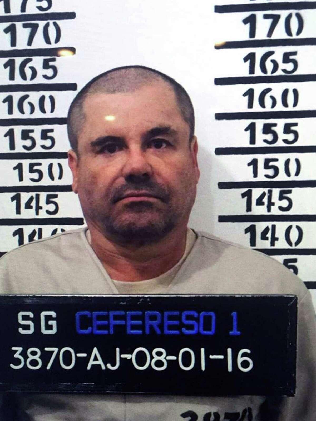 """The real life Joaquin """"El Chapo"""" Guzman."""