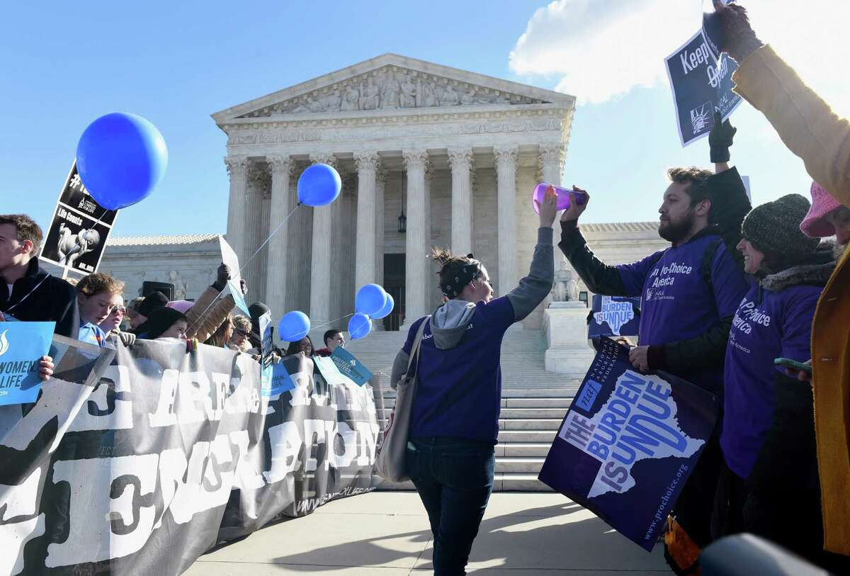 Roe v. Wade Probably the most famous Texas case to go before the high court, the 1973 decision in Roe v. Wade opened the door to a constitutional right to abortion. It also opened up years of litigation and protests.