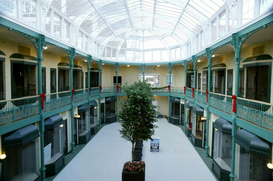 The Bridgeport Chamber of Commerce is asking members such as the Arcade Mall for promotional videos of their businesses. Photo: Phil Noel, CP / Connecticut Post