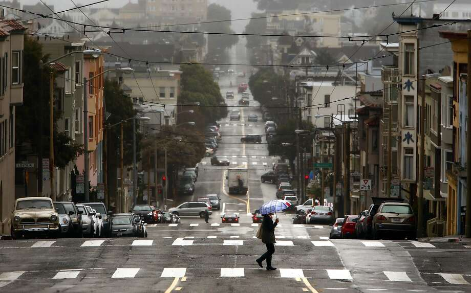 The Bay Area is predicted to see up to half an inch of rain on Thursday, forecasters said. Photo: Michael Macor, The Chronicle