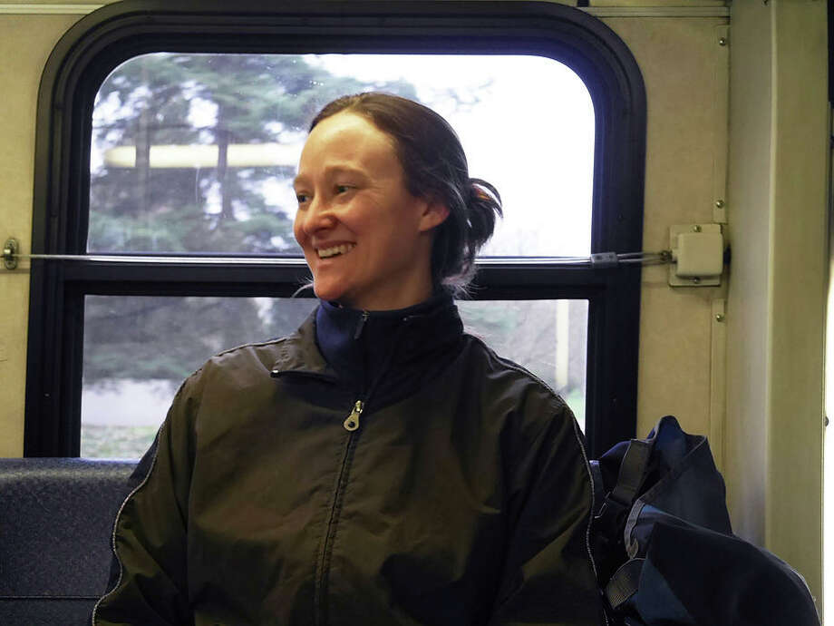 Transit Riders union General Secretary and Organizer, Katie Wilson. (Photo: KBCS What's the Flux?)