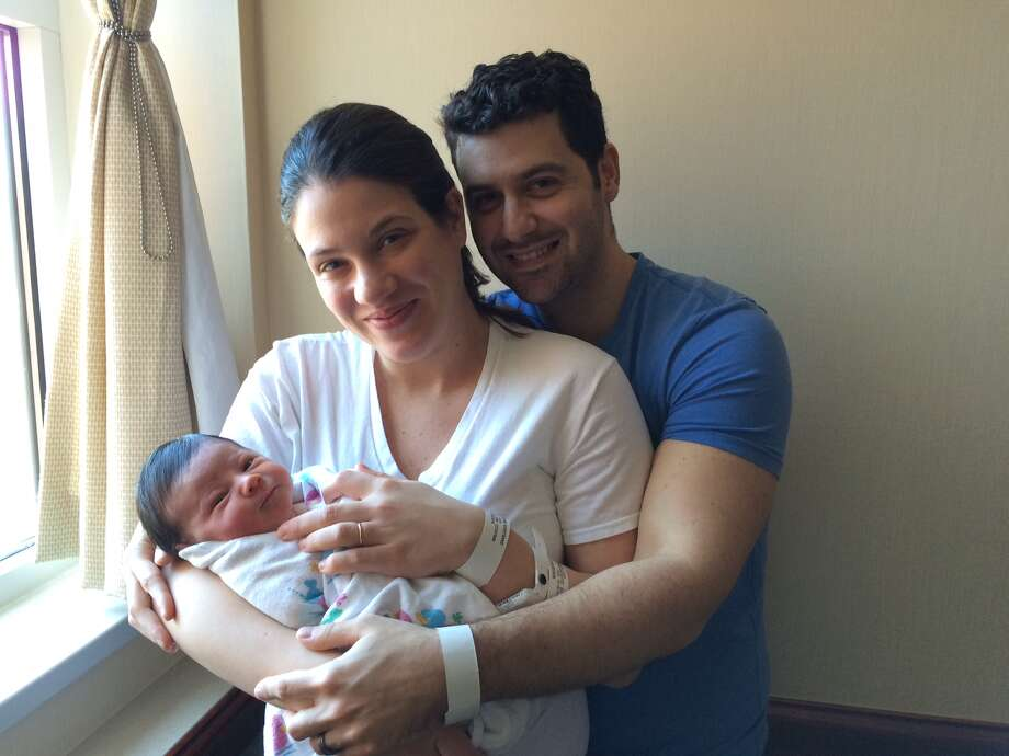 Lizzi and Allen Shtelmakher of Yonkers, NY, Photo: / Greenwich Hospital