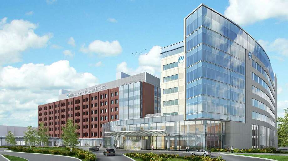 A rendering of the planned expansion at the Westchester Medical Center in Valhalla, N.Y. Photo: Contributed / Contributed Photo / Greenwich Time Contributed