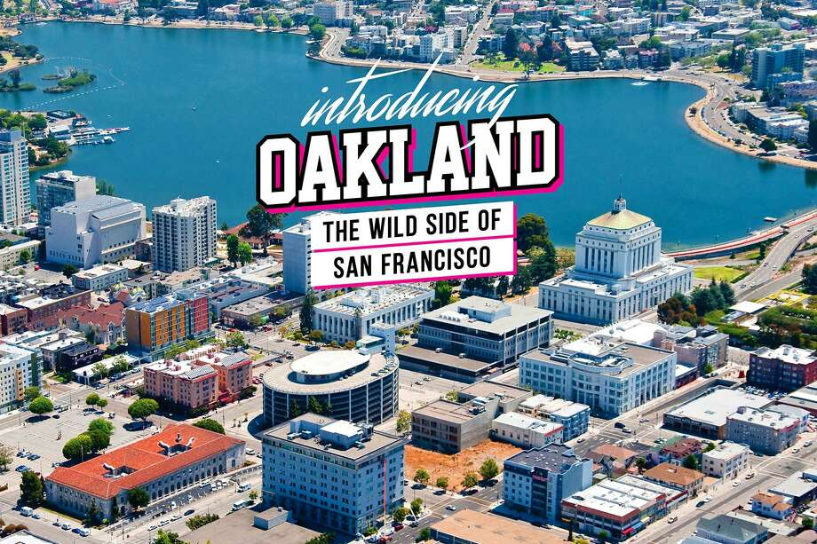 """This slide sponsored by Qantas Airlines calling Oakland """"the wild side of San Francisco"""" was shown at a recent tourism conference in San Francisco. If you do want to visit the """"wild side,"""" where should you go? Click through for some Oakland travel suggestions. Photo: Qantas"""