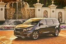 The three-row 2016 Kia Sedona — dubbed by Kia as a Multi-Purpose Vehicle — offers generous and flexible capacity for up to eight passengers and their cargo.