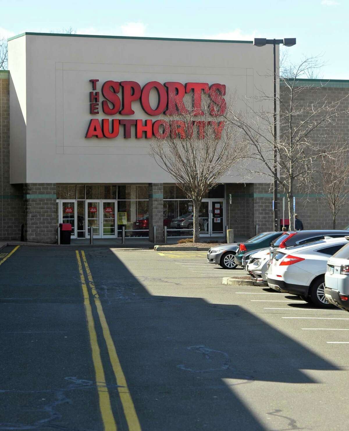 The Sports Authority, in the Danbury Landing shopping center, 13 Sugar Hollow Road, Danbury, Conn, on Wednesday, March 2, 2016.