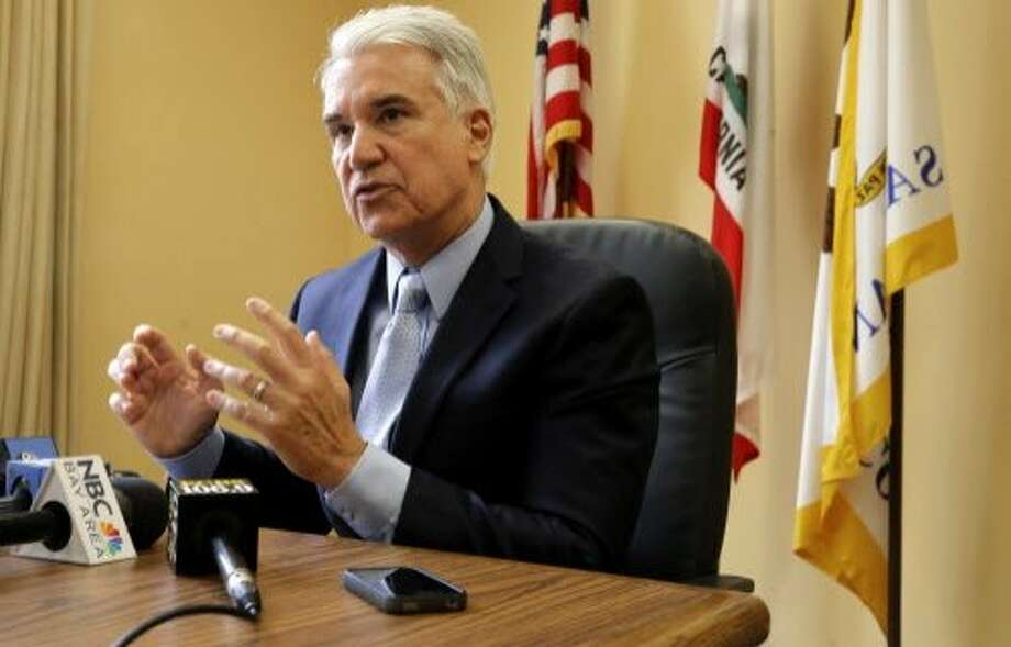 San Francisco District Attorney George Gascón has been critical of Uber's claims about background checks. Photo: Michael Macor, The Chronicle