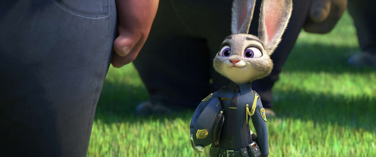 """Judy Hopps is the first bunny police officer in Zootopia. ZOOTOPIA â€?""""Pictured: Judy Hopps. Â2016 Disney. All Rights Reserved."""