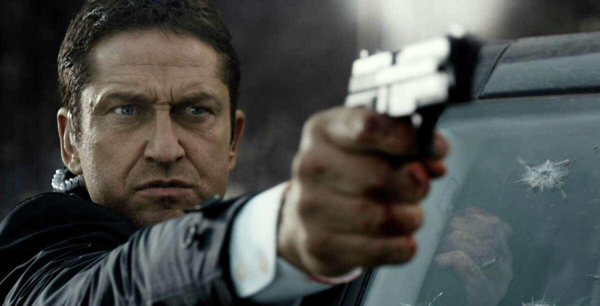 """This image released by Focus Features shows Gerard Butler in a scene from Grammercy Pictures', """"London Has Fallen."""" (Grammercy Pictures/Focus Features via AP)"""