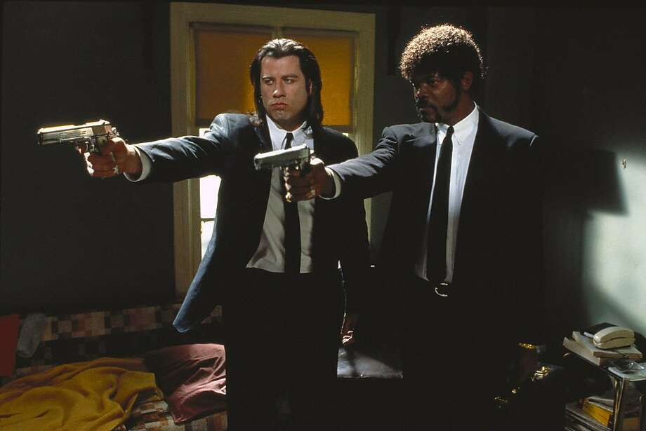 "John Travolta and Samuel L. Jackson starred in ""Pulp Fiction,"" one of Miramax's biggest hits. Photo: MIRAMAX"