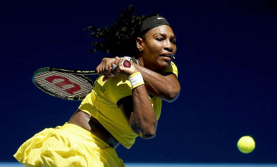 Serena Williams plans to cut down on her competition schedule to stay fresh for the Rio Olympics. Photo: Vincent Thian, AP
