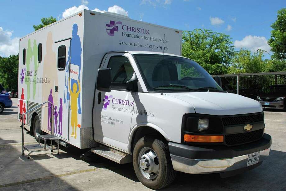 The Christus Foundation's mobile health unit visited the Cabo San Lucas Apartments to provide free health screenings to tenants.  Photo: Courtesy Of Nova Asset Managemen / handout