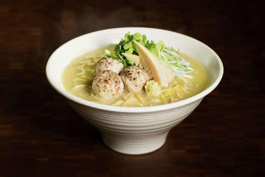 Chicken paitan ramen from Nojo Ramen Tavern. Photo: Carolyn Fong / Carolyn Fong