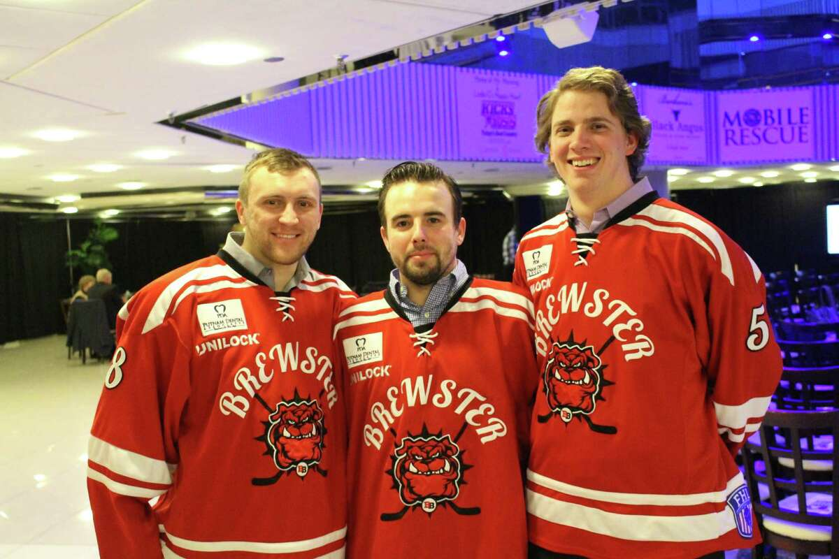 The Danbury Titans and Brewster Bulldogs held the Hockey fights Hunger dinner and pageant on Thursday, March 3, 2016. Were you SEEN?