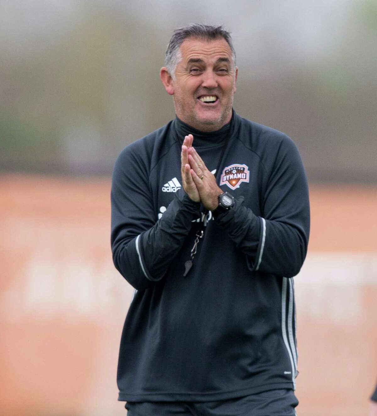 Dynamo coach Owen Coyle applauds his players who had offers from domestic and international teams but stayed in Houston.