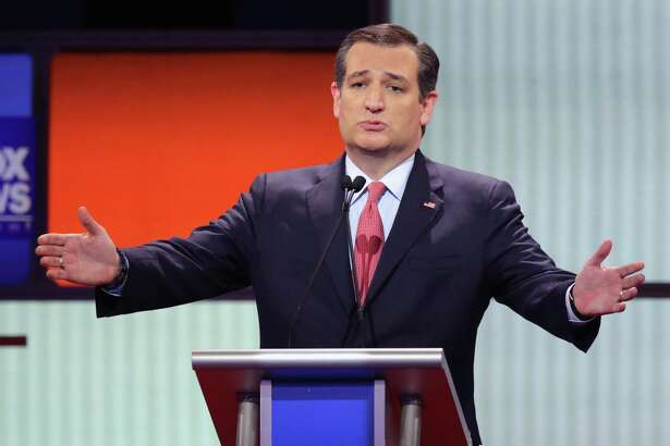 DETROIT, MI - MARCH 03:  Republican presidential candidate Sen. Ted Cruz (R-TX) participates in a debate sponsored by Fox News at the Fox Theatre on March 3, 2016 in Detroit, Michigan. Voters in Michigan will go to the polls March 8 for the State's primary.