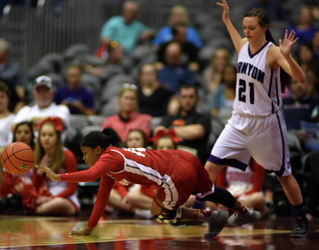 crosby girls come up short against canyon in 5a semifinals