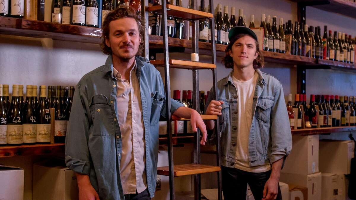 Owner Bradford Taylor, (left), and manager Quinn Kinsey-White of the Ordinaire wine bar in Oakland, Calif. are seen on March 3, 2016.