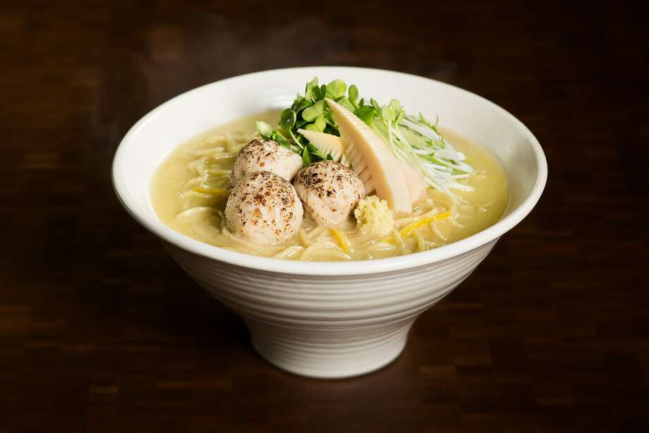 Nojo Ramen Tavern in S.F. : chicken paitan ramen. Photo: AP Company USA Inc., Nojo