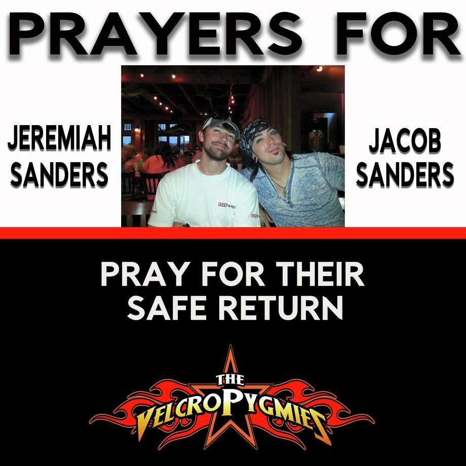 The touring schedule for a popular Kentucky-based party cover band, the Velcro Pygmies, is on hold while officials search for a missing member of the band and his brother, missing after embarking on a fishing trip off the coast of Alabama. This week the band reported to fans that the band's bass player, Jacob Sanders, and his brother Jeremiah are currently missing. The boat that the pair was traveling in was found on Thursday morning but the men were not.