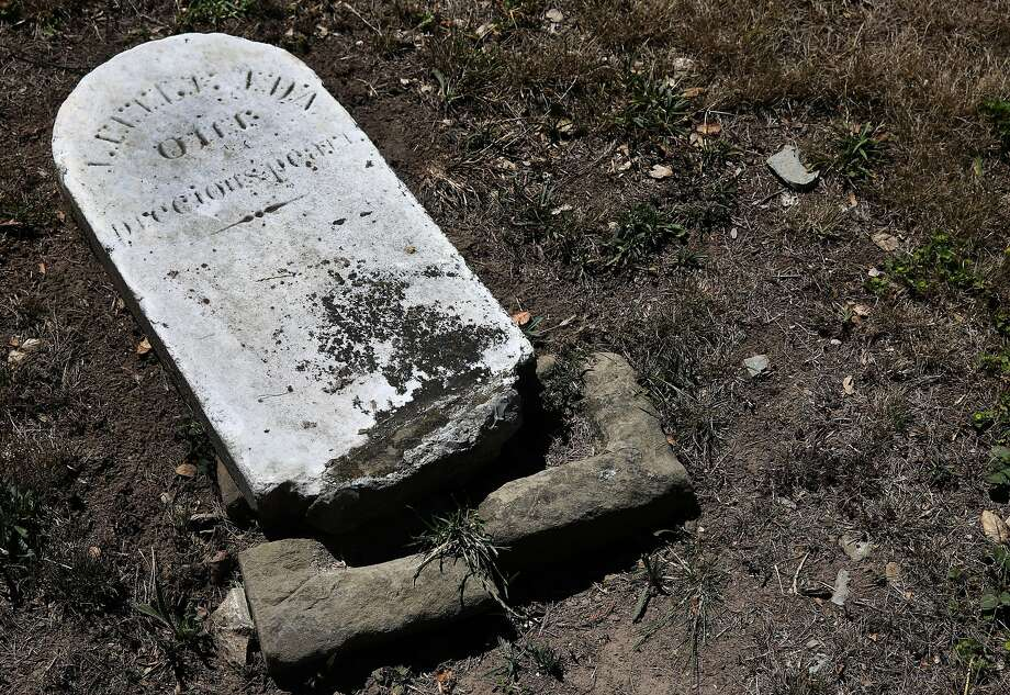 Many buried in early San Francisco had to be moved and reburied as the city grew. Photo: Paul Chinn, The Chronicle