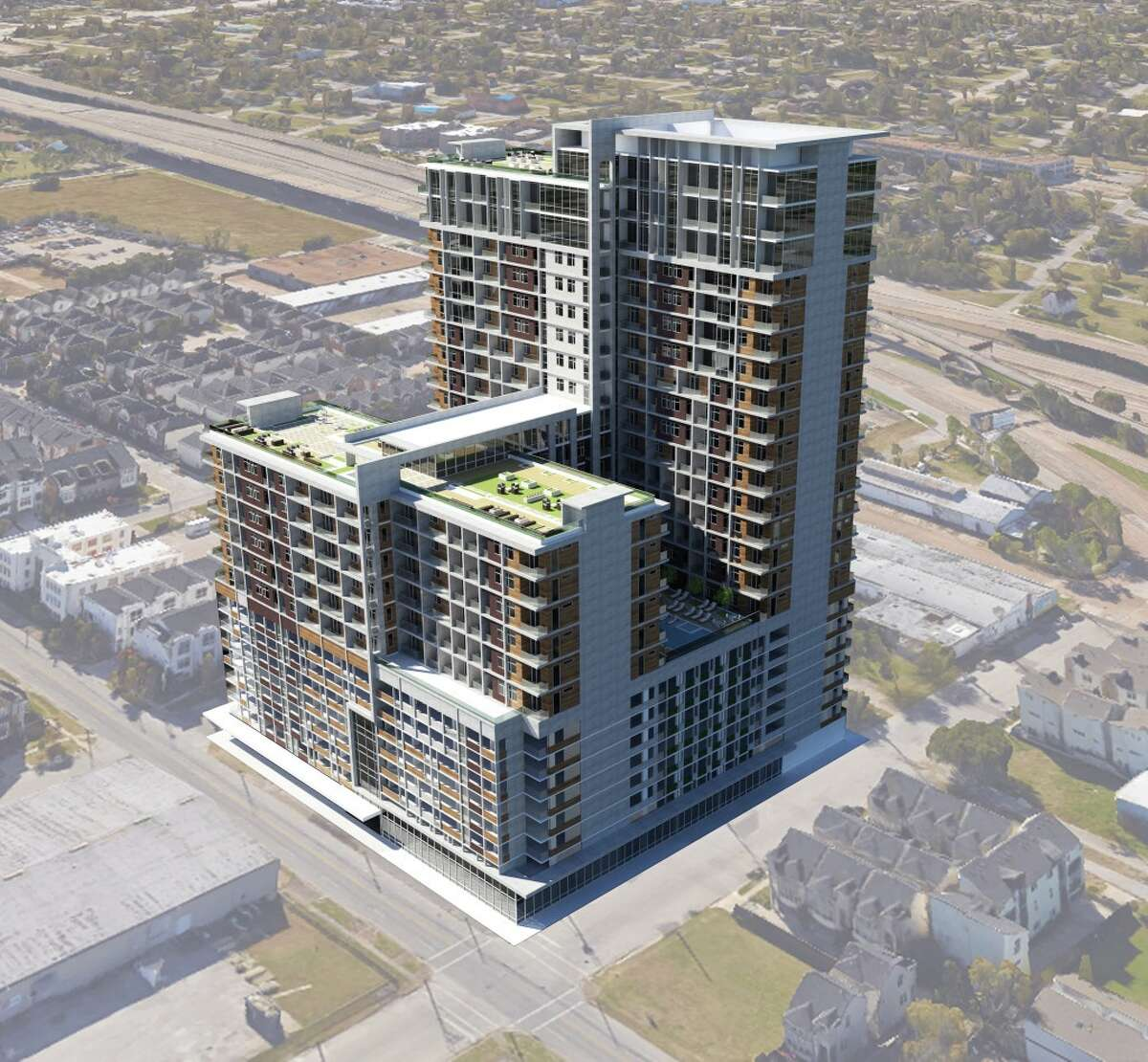Powers Brown also worked on plans for the 24-story Ivy Lofts east of downtown Houston.