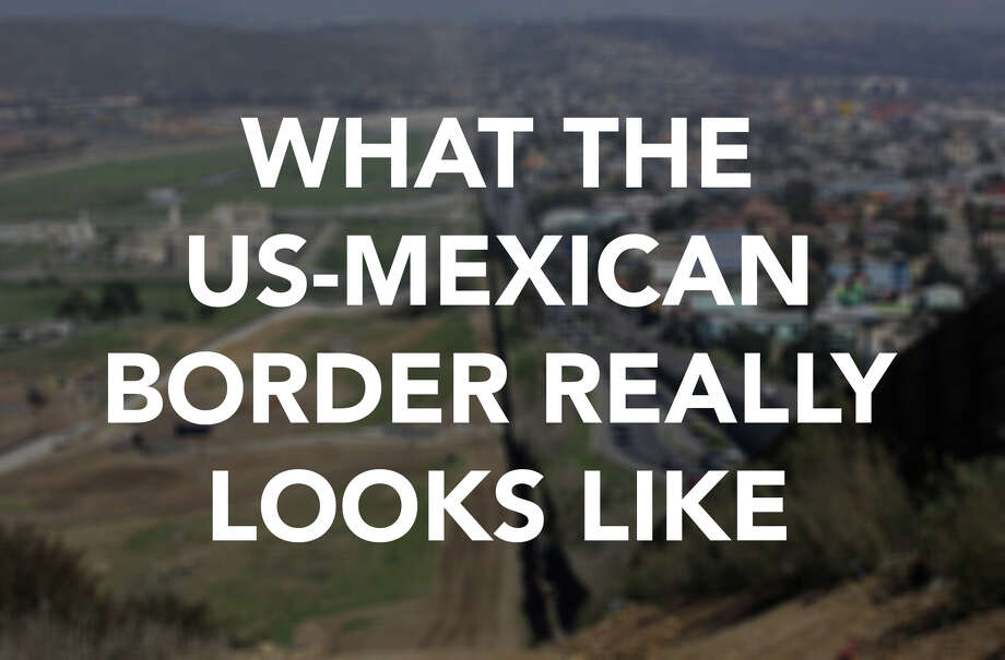While some politicians like to paint a picture of the U.S.-Mexican border as a pre-militarized zone waiting for a wall and a soldier to keep it safe, in many cases the border resembles a neighborhood much like any other. Photo: US Customs And Border Protection