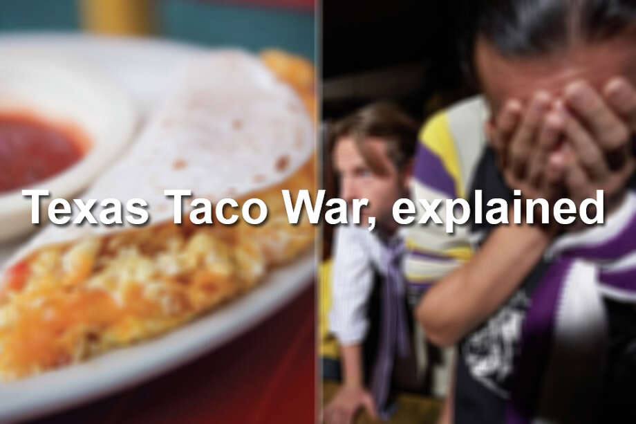 Click through the slideshow to get up to speed on the Texas Taco War between Austin and San Antonio.