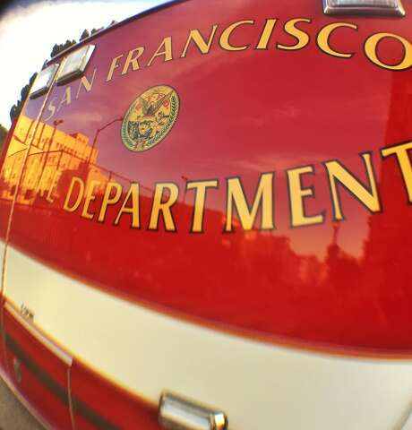 The San Francisco Fire Department was conducting a water rescue Saturday, officials said. Photo: Bill Hutchinson /