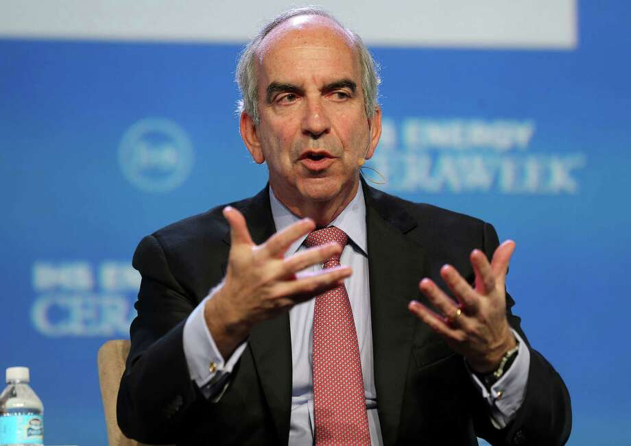 John Hess, CEO of Hess Corp., says the capital gives the company flexibility to keep investing in growth. Photo: Elizabeth Conley, Staff / © 2016 Houston Chronicle